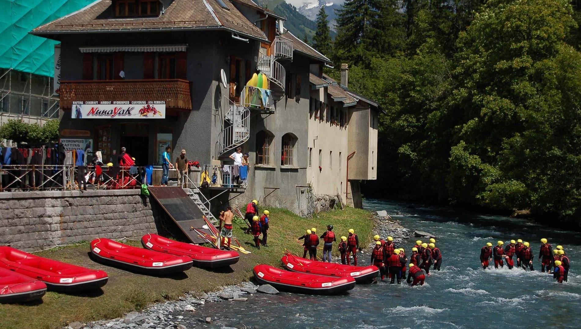 nunayak rafting alpes - rafting haute savoie