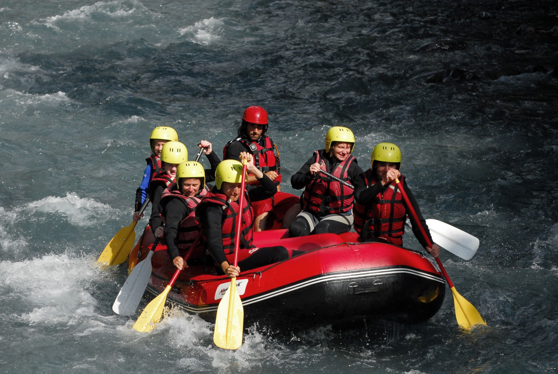 nunayak rafting alpes - rafting haute savoie - rafting canyoning