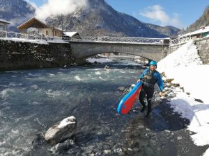 rafting hiver